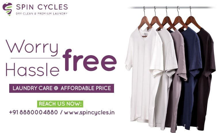 online laundry services in banglore