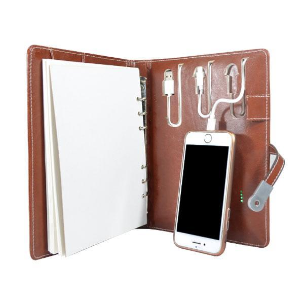 Power Bank Diary For Corporate Gifting