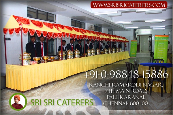 Outdoor Catering Services in Chennai | SRISRI Caterers