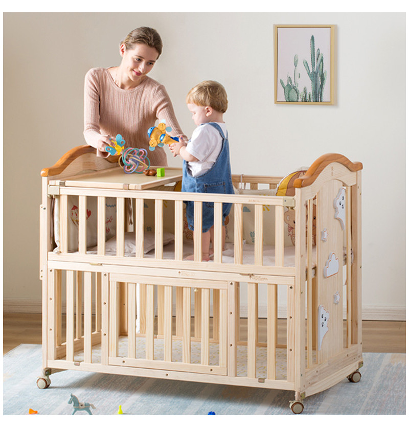 Buy Best Baby Cot Online in India for your baby | Hunyhuny