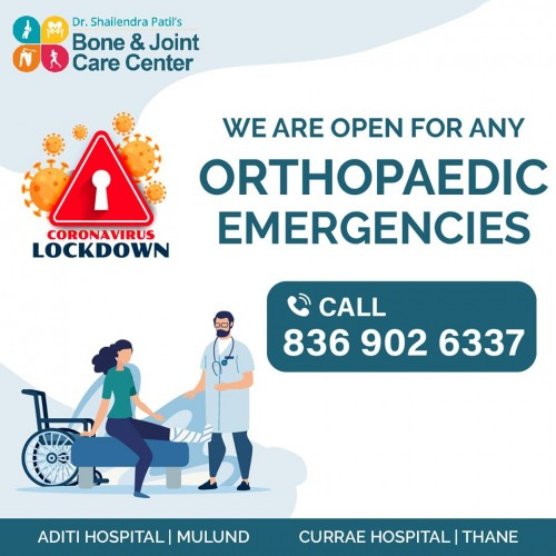 Consult Today Best & Experienced Orthopedic Knee Replacement Surgeon / Doctor In Thane, Mulund - Bone & Joint Care