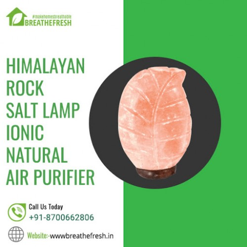 Buy Natural Himalayan Rock Salt Lamp for air purification