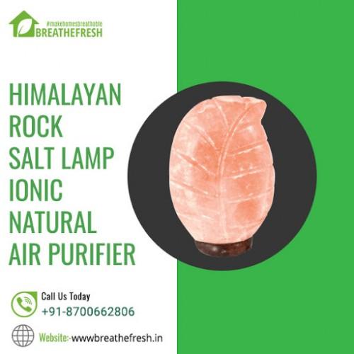 Buy Natural Himalayan Rock Salt Lamp for air purification