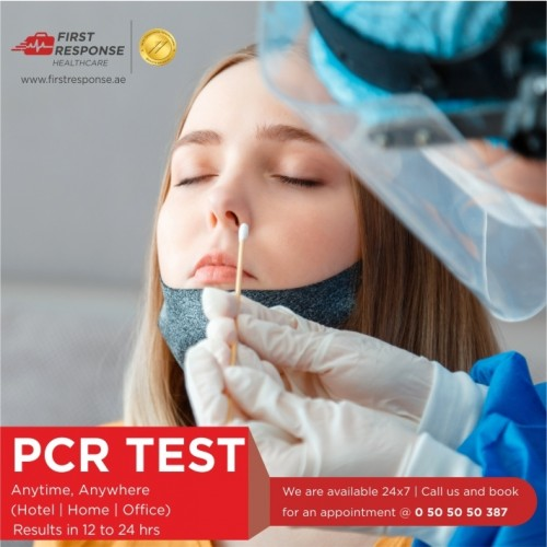 24 Hours Covid-19 PCR Test in Dubai with First Response Healthcare