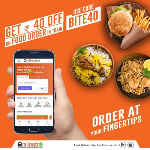 Online Order Pure Veg Food in Train and Get the Discount