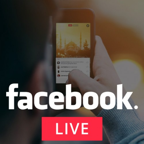 Facebook Live Video Streaming Services in India