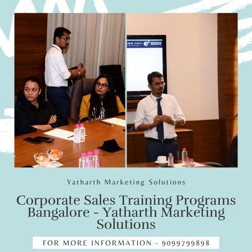 Corporate Sales Training Programs Bangalore - Yatharth Marketing Solutions