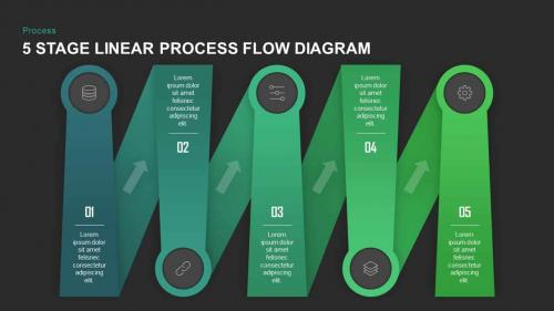 Flow Diagram PowerPoint Template