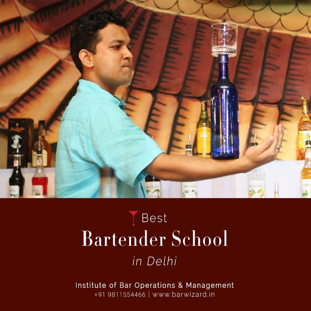 Barwizard Bartender School - Wine, Mixology Flair Bartending Course