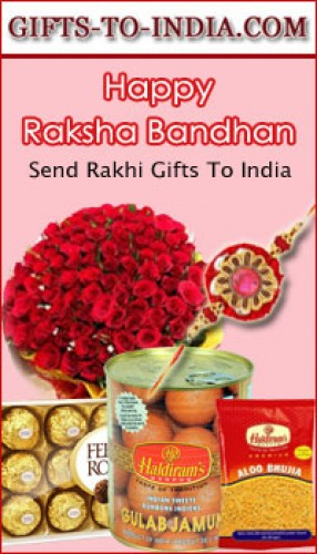 Surprise your Brother in India with amazing Rakhi online