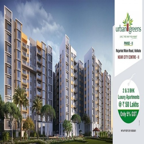 Urban Greens - Flats in Rajarhat