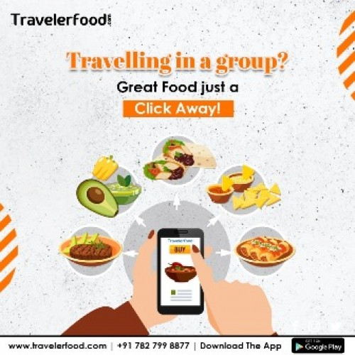 Food in Train with Traveler Food
