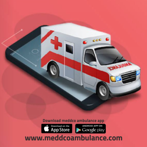 Book an ambulance instantly with Meddco Ambulance Assistance
